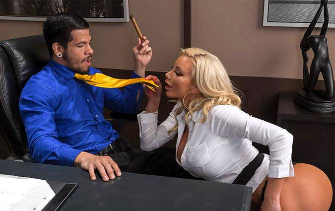 bigtitsatwork-nicolette-shea-boss-for-a-day
