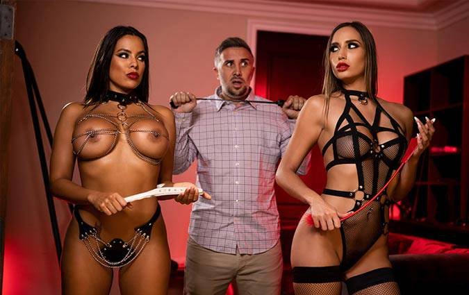brazzersexxtra-luna-star-desiree-dulce-the-dommes-double-dommed